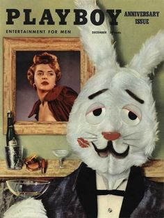 Playboy magazine cover December 1954