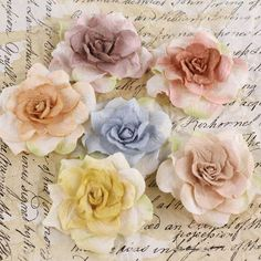 Don't have time to make handmade flowers? We've got you covered. Use these Pankita Rose Handmade Paper Flowers and gussy up any craft project you're working on. These lovely handmade flowers will add a touch of spring to any craft. $4.25