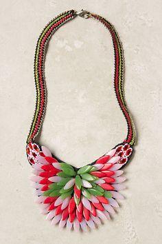 Candyflower Necklace #anthropologie $40