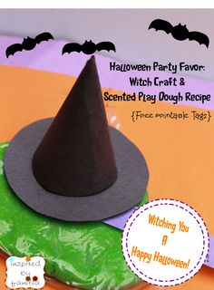 diy Halloween Party Treat. Perfect for those who are looking for H-ween candy alternatives. - We made these last year for my sons class and they were a huge hit!