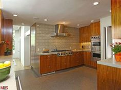 Michael C. Hall Beverly Hills Home-Kitchen