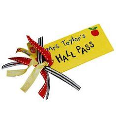 Teachers Hall Pass