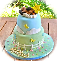 Horse cake by Cakes by Sonja, via Flickr