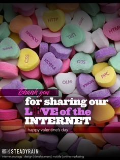 Valentine's Day Egreeting - For Sharing Our Love of the Internet!