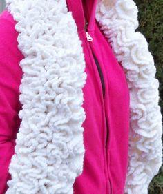 Winter's Snow Pdf crochet Scarf Pattern