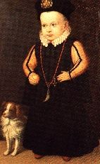 Portrait of Prince Sigismund Vasa, wearing a wolf's tooth on a chain of coral beads,   1568. Wawel Royal Castle .