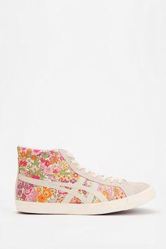 Asics Fabre Floral High-Top Sneaker