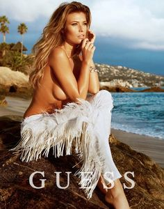 Samantha Hoopes gets Glam in Guess Spring Summer 2014 Ads (Bliqx.net )