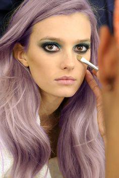omg - Lilac hair
