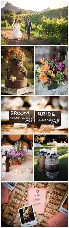 Vineyard Wedding Inspiration Vineyard Wedding Inspiration