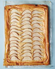 Almond-Pear Tart Recipe