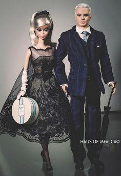 Roger Sterling Barbie Doll & Cocktail Dress