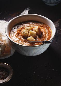 Tomato Soup - Vegan, sub vegetable broth