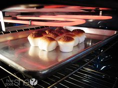 Broiled Marshmallows