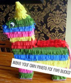 Piñata Making ... Book Fair decorations