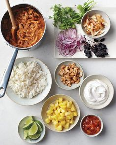 Turkey Curry Dinner Recipe - a more exotic option for leftover turkey