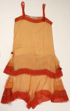 Silk 1920s lingerie