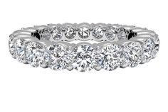 Classic Diamond Eternity Band - in Platinum (2.90 CTW)