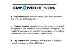 Empower Network  Presented by Irish Jim on Slideshare