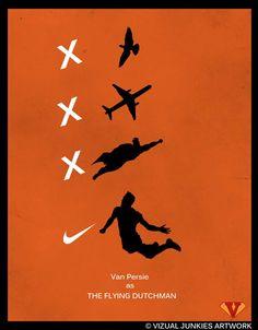 The Flying Dutchman!! #VanPersie #Netherlands #Worldcup #FIfa2014