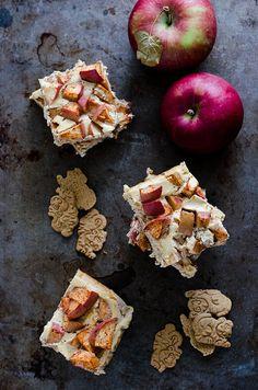 Apple Yogurt Cheesecake Bars   cooking ala mel