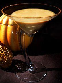 Pumpkin Pie Martini!