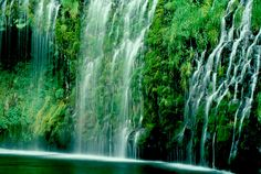 Mossbrae Falls, Dunsmuir CA   © Marsha K. Russell