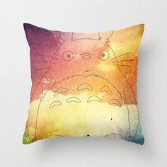 totoro pillow, sunris, pillow covers