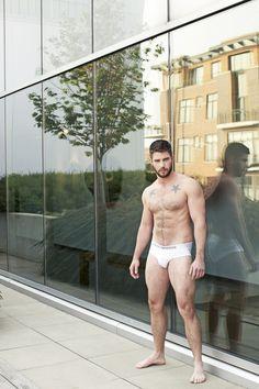 mirror, hot man, underwear, guy, hombr, beard, sexi men, blog, hot men