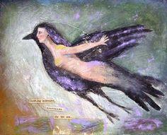 creativ art, art journal, judi wise, constellations, artworks, helping people, life coaching, angels, birds