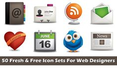 Social Media Icons to consider