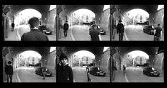 Duane Michals – 'Chance Meeting' 1973.