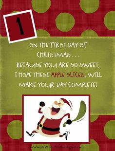 12 Days of Food Storage for Christmas