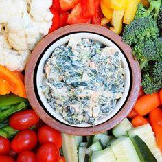 Vegan Spinach Dip |