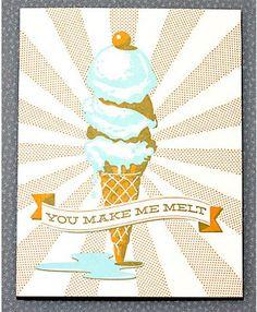 you make me melt! #love #note