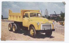 Chrome GMC Medium Duty 6 Wheeler Dump Truck, 1960s