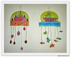 Craft ideas for Kids - Mobile Hangings www.momscribe.com