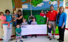 Morning Star Child Development raised and donated $1,702 to East Tennessee Children's Hospital morn star, star child, morning star