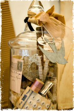 .Good way to display my old sewing items