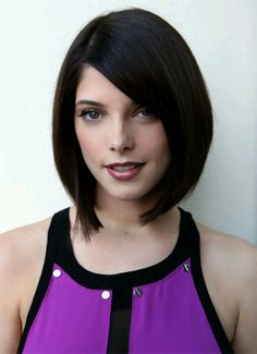 Sleek bob - Ashley Greene