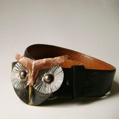 owl belt buckle @Susie Sun Hamlin..I am getting you this for xmas.