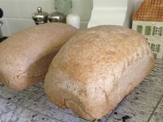 THM Easy Whole Grain Sprouted Bread Machine Bread (E Trim Healthy Mama)  So easy, soft and yummy! Recipe in comments below  by Kristen Flournoy Hay