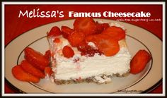 Melissa's Famous Cheesecake (Grain-Free & Sugar-Free) | Satisfying Eats lowcarb, famous cheesecak, cheesecake recipes