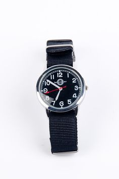 Hemingway Style Hemingway Miltary Watch with Black Face