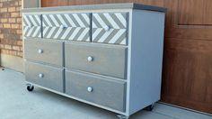 7 Drawer Dresser Made From Pallets :: Hometalk