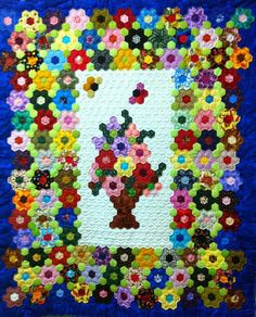 The Great Hexagon Quilt - Along too!!: scrappy quilt