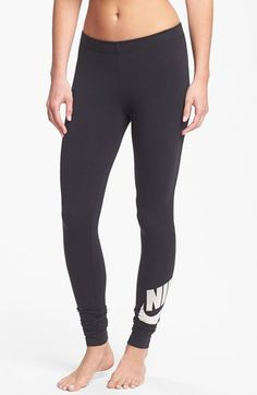 Nike 'Leg-A-See Signal' Leggings available at #Nordstrom