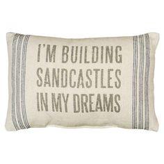 Sandcastles Pillow