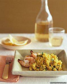 Whole Grain Goodness // Lemon-Saffron Millet Pilaf Recipe