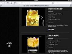 Lynchburg Lemonade on Pinterest